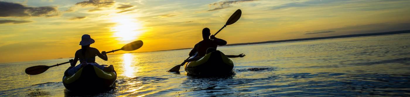 Kayaking on Cape San Blas with VayK Gear